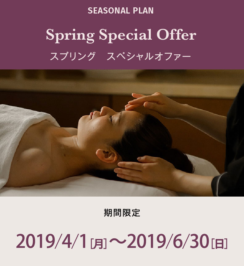 Spring Special Offer スプリングプラン
